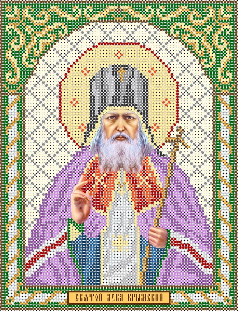 Вышивка бисером святитель лука крымский 87